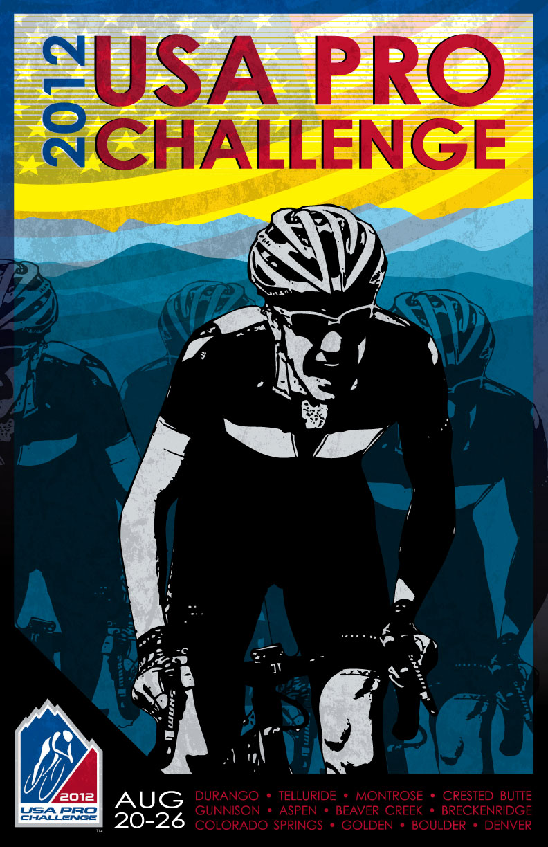 Winner of the USA Pro Challenge Poster Contest!