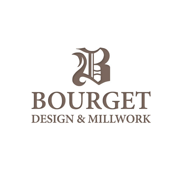 Bourget Design and Millwork Logo design