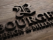 Logo design for custom woodwork company