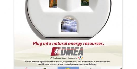 Delta-Montrose Electric Association Advertisement
