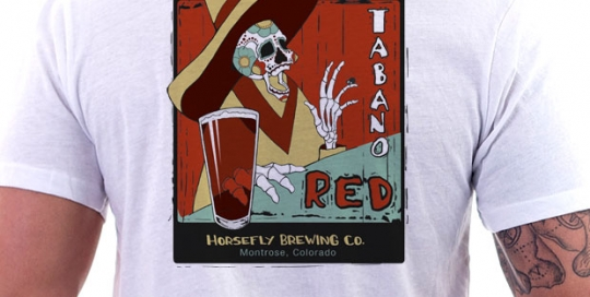 Horsefly Brewing Co. Tabano Red Logo