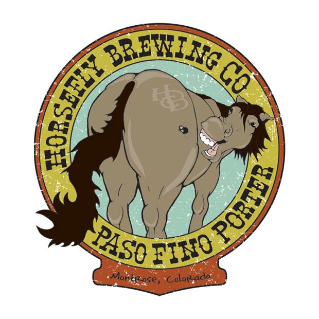 Horsefly Brewing Co. Paso Fino Porter Logo