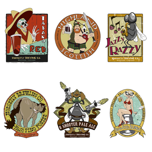 Horsefly Brewing Co. Logos