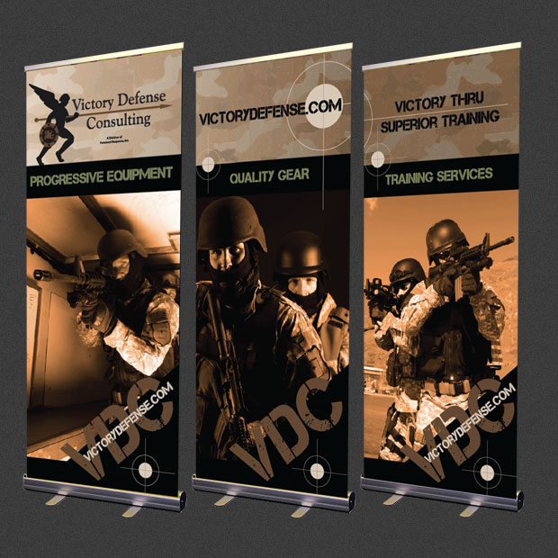 Victory Defense Consulting banner design