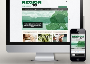 Region 10 website design