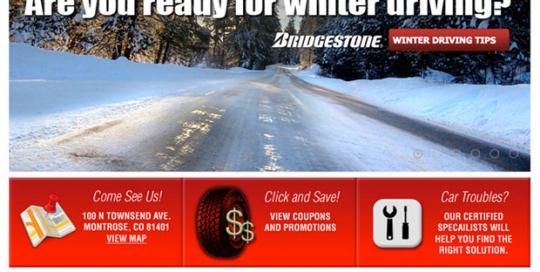 Standard Tire & Service Center website design by Treefeather Creative