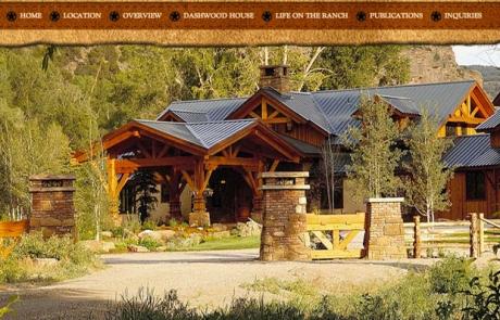 Centennial Ranch web design by Treefeather Creative