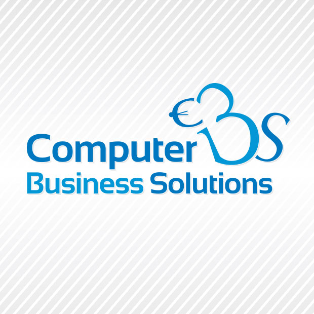 computer-business-solutions-logo-design by Treefeather Creative