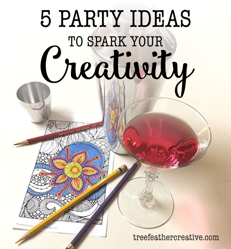 5 Party Ideas to Spark Your Creativity