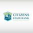 Citizens State Bank logo design